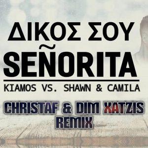 Πάνος Κιάμος & Shawn Mendes & Camila Cabello – Δικός σου senorita (Christaf & Dim Xatzis Remix)